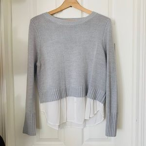 Cute Divided Sweater